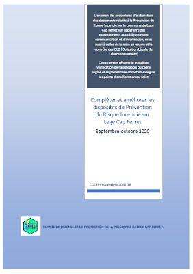 COMPLÉTER et AMÉLIORER les dispositifs de PREVENTION de R.I.F. sur LCF - 2020