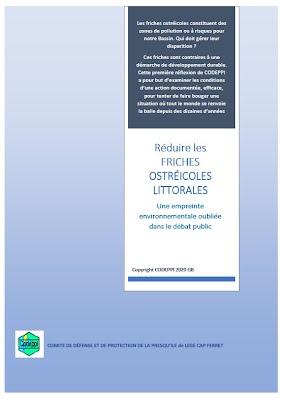 RÉDUIRE les FRICHES OSTRÉICOLES LITTORALES sur LCF – 2019-2020